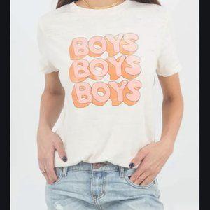 """Mate the label """"Boys Boys Boys"""" tee"""